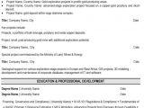 Geology Student Resume Exploration Geologist Resume Sample Template