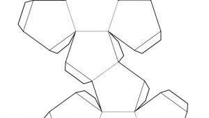 Geometry Net Templates Shape Nets Printable 3d Geometry Kiddo Shelter