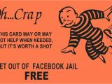 Get Out Of Jail Free Card Template Avoiding Facebook Jail when In Direct Sales Lorri Gail