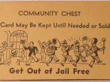 Get Out Of Jail Free Card Template Get Out Of Jail Free Card Clip Art Clipart Best