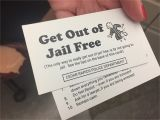 Get Out Of Jail Free Card Template Get Out Of Jail Free Card Template Image Collections