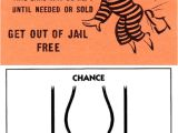 Get Out Of Jail Free Card Template then now 13 Monopoly Quot Get Out Of Jail Free Quot Card