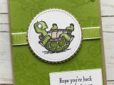 Get Well soon Diy Card Ideas Back On Your Feet Get Well Card Stampinupcards with