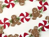 Gingerbread Man Decoration Template Gingerbread House Party with Gingerbread Man Banner