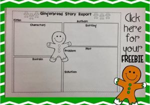 Gingerbread Man Story Map Template the Gingerbread Man Story Elements Graphic organizer