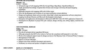 Gis Engineer Resume Sample Gis Developer Resume Sample Resume Samples Free