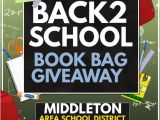 Giveaway Flyer Template Bookbag Giveaway Template Postermywall