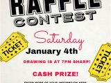 Giveaway Flyer Template Raffle Flyer Poster social Media Post Template Contest