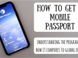 Global Entry Card Border Crossing How to Get A Mobile Passport is It Better Than Global Entry