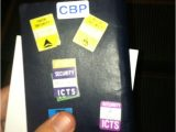 Global Entry Card Canada Border Global Entry No Longer Put the Cbp Sticker On the