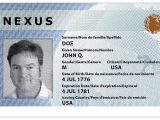 Global Entry Card Canada Border Skip the Lines Expedited Security and Immigration