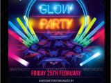 Glow In the Dark Party Flyer Template Free 23 Glow Party Flyer Templates Free Premium Download
