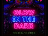 Glow In the Dark Party Flyer Template Free 25 Best Glow Party Flyer Psd Templates Free Premium