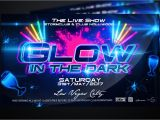Glow In the Dark Party Flyer Template Free Glow In the Dark Party Flyer Flyer Templates Creative