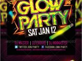 Glow In the Dark Party Flyer Template Free Glow Party Flyer Template Www Moderngentz Com Your