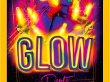 Glow Party Flyer Template Free 25 Best Glow Party Flyer Psd Templates Free Premium
