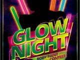 Glow Party Flyer Template Free Glow Night Party Flyer Psd Template Free Download