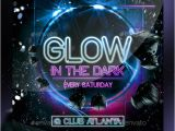 Glow Party Flyer Template Free Glow Party Flyer by Stormclub Graphicriver