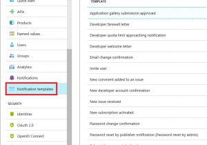Gmail Email Template and Snippet Manager Configure Notifications and Email Templates In Azure Api