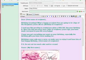 Gmail Email Template and Snippet Manager Send Automatic Birthday and Season 39 S Greetings Screenshots
