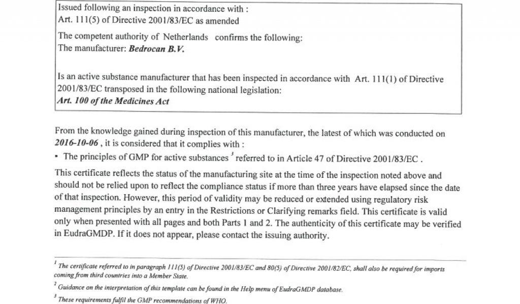 certificate statement sample gmp template conformity soncap certificates williamson ga tablet