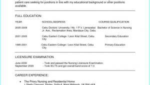 Gnm Nursing Resume format Word Bsc Nursing Resume format for Freshers Download Resume