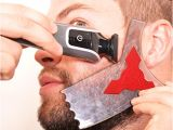 Goatee Templates the Beard Ninja Beard Shaping tool Template Beard