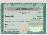 Goes Stock Certificate Template Free Stock Certificate Template Free Printable Documents