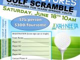Golf Scramble Flyer Template Free Boys Girls Club Of Warm Springs Annual Fundraiser June