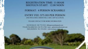 Golf Scramble Flyer Template Free East Grand forks Greenwave Hockey Golf tournament