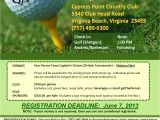 Golf Scramble Flyer Template Free Golf Outing Flyer Template Posted by Tidewatervspe at 6