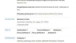 Good Basic Resume Template 70 Basic Resume Templates Pdf Doc Psd Free