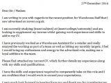 Good Cover Letter for Warehouse Job Warehouse Staff Cover Letter Icover org Uk