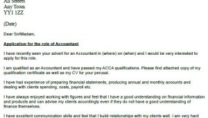 Good Cover Letter Names Accountant Cover Letter Example Icover org Uk