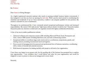 Good Cover Letters for Cv 13 Great Sample Cover Letters Samplebusinessresume Com