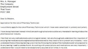 Good Cover Letters for Pharmacy Technicians Pharmacy Technician Cover Letter Example Icover org Uk