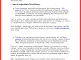 Good Resume for Job Interview Job Interview Sample Good Resume format