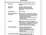 Good Resume format for Teacher Job Sample Resume for Teaching Position Sample Resumes
