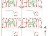 Goodie Bag Tags Template Christmas Goodie Bags