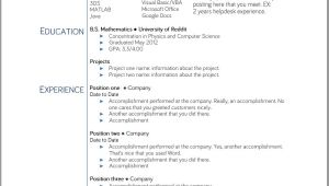 Google Docs Student Resume Template College Student Resume Templates Microsoft Word Google
