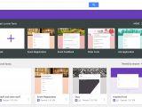 Google forms Templates Creating Google forms Templates Madinbelgrade