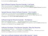 Google software Engineer Resume Sample How to Do A Successful Google Resume Search