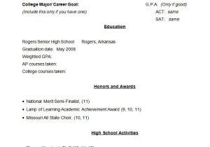 Grade 12 Student Resume 24 Best Student Sample Resume Templates Wisestep