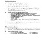Grade 12 Student Resume Student Resume format A