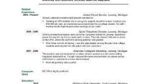 Graduate School Resume Sample Student Resume Templates Student Resume Template Easyjob