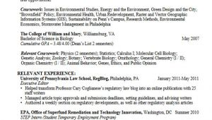 Graduate Student Resume Career Services Sample Resumes for Graduate Students and