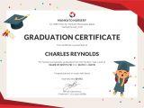 Graduation Certificate Template Free Nursery Graduation Certificate Template In Psd Ms