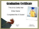 Graduation Certificate Template School Graduation Certificates Customize Online with or