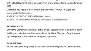 Graphic Design Contract Template 12 Freelance Contract Templates Word Pdf Free