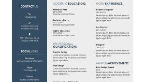 Graphic Designer Resume Word format Free Download Graphic Designer Resume Template 17 Free Word Pdf